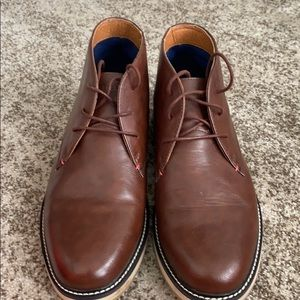 Tommy Hilfiger Ankle Brown Boots 10.5